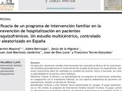 Eficacia intervención familiar prevención hospitalización personas esquizofrenia Mayoral col.