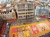 alfombra flores Bruselas