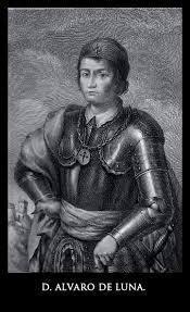 Álvaro Luna, parto España