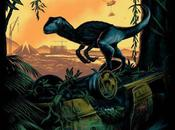 Chulísimo póster para comic-con jurassic world creado mark englert