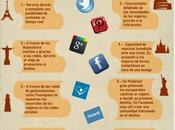 Ventajas redes sociales para turimo #Infografía #Socialmedia #Turismo