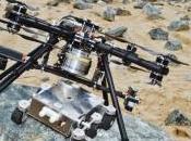 grúa aérea para aterrizar Marte