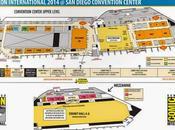Mapas horario Diego Comic-Con 2014