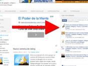 Gadget sobre actividad seguidores Facebook