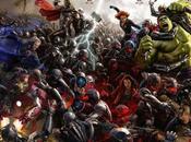 Últimos pósters arte conceptual hulk, thor, halcon, quicksilver mosaico completo vengadores: ultron