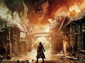Sneak Peek teaser trailer Hobbit: Batalla Cicno Ejércitos Primer póster revelado