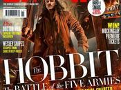 "hobbit: batalla cinco ejercitos"" bardo arquero smaug cubiertas exclusivas empire magazine"