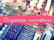Cómo organizar cosméticos