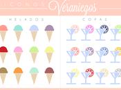 Freebies: Iconos veraniegos