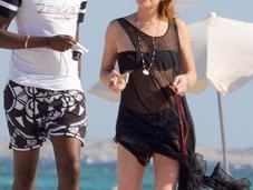 Lindsay Lohan veranea Ibiza