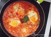 Shakshuka: Receta árabe huevos escalfados