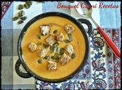 Sopa crema calabaza avena (sin queso)
