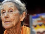 Fallece premio nobel, nadine gordimer