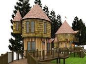 casas jardín para niños pequeñas mansiones harán soñar