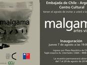 MALGAMA muestra multidisciplinar artes visuales Curatoría: Victoria Bravo