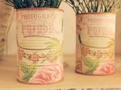 Cuky latas florero.