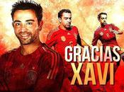 Selección España despide Xavi Hernández