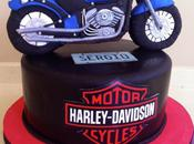 Tarta moto harley davidson