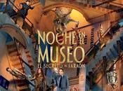 "Póster español ""noche museo: secreto faraón"""