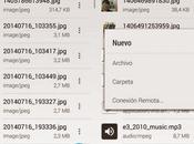 Cabinet, explorador archivos sabor Android