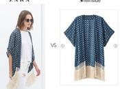 Kimonos Zara clonados