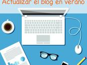 Tips para blogs: actualizar blog verano