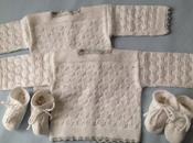 Conjunto algodón Blanco Primeras puestas.