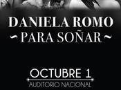 Daniela Romo está regreso escenarios