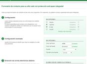 Como insertar formulario contacto Blogger