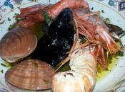 Barbacoa marisco ahumado Barbecue frutti mare affumicato