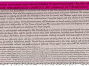 """Víctimas Holocausto condenan masacre Gaza: genocidio comienza silencio mundo"""""""