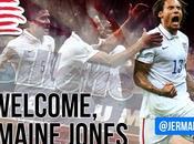England Revolutions bienvenida Jermaine Jones