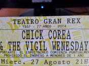 CHICK COREA Buenos Aires tickets 'Wednesday'