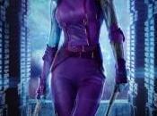 Diseños conceptuales Nébula, Korath, Coleccionista para Guardianes Galaxia