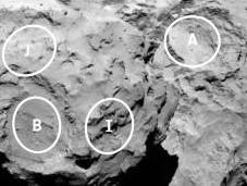 Rosetta preselecciona cinco lugares para aterrizaje Philae