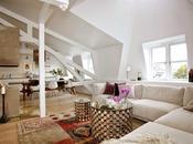 lovely white attic