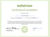 Terminar programa pair: Completion Certificate