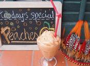 Today's special: Peaches Please {Orange Smoothie}