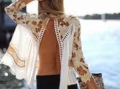 Blusas vestidos escote espalda