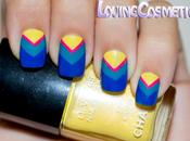 Chevron Nails Mini-Tutorial