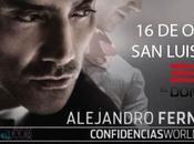 "Alejandro Fernández ""Confidencias World Tour"" Luis Potosí"