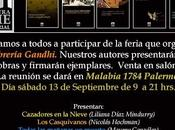 Eventos Feria Editoriales Independientes librería Gandhi