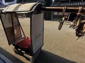 Kago (駕籠) taxis Japón antiguo
