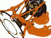 Tsuzumi (小鼓) tambor hombro