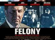 "Nuevo póster ""felony"" courtney joel edgerton"