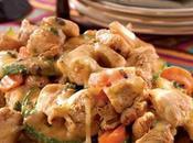 Pollo verduras queso receta para diabeticos