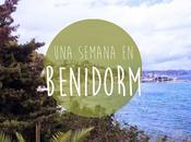 Vlog: semana Benidorm