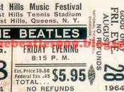 años: Ago. 1964 Forest Hills Tennis Stadium Hill, Nueva YorkLos Beatles conocen Dylan algo