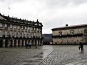 Anochecer lluvioso Santiago Compostela