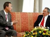 Raúl Castro entre presidentes quienes llamó Ki-moon ayuda para brote ébola